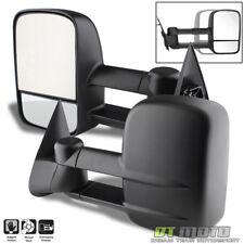 Left+Right 99-07 Silverado Sierra Extend Towing Telescoping Side Mirrors Manual