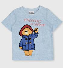 TU Paddington Bear 4-5 Years Character T Shirt New 100% Cotton