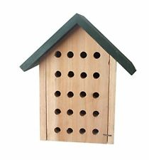 New Tierra Garden 14 1756 Wooden Chalet Bee House Free Shipping