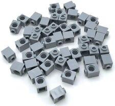 Lego 50 New Light Bluish Gray Technic Bricks 1 x 1 with Hole Pieces