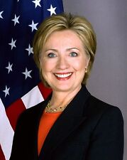 HILLARY CLINTON OFFICIAL PORTRAIT AS SECRETARY OF STATE - 8X10 PHOTO (EE-127)