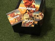PS3 MAX PAYNE 3 III HUGE SPECIAL COLLECTORS EDITION BOXSET GAME NEW FIGURE+