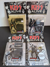 KISS 1975 ALIVE McFARLANE FIGURES SET 2001 STANLEY SIMMONS FREHLEY CRISS AUCOIN