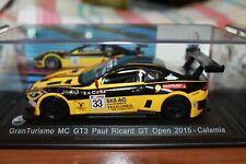 MASERATI - GRANTURISMO - MC GT3 - PAUL RICARD GT OPEN - 2015 - SCALA 1/43