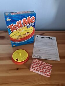 Tell me quiz game - educational word game. Very good condition