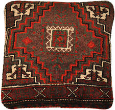 Gabbeh Teppich Kissenbezug 40 x 40 cm Persien Wolle handmade