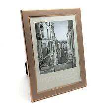 "Beautiful Metal Photo Frame With Copper Finish 5"" x 7"" FA12257"