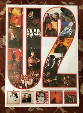 U2  Island Records Catalog  rare poster from 1984