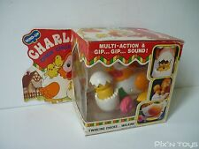 Charlie Chick Chick / Robot automate Wind-up Vintage - Made in Hong Kong