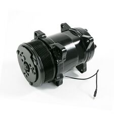 Sanden 508 Style A/C Air Conditioning Compressor Serpentine Belt Pulley Black