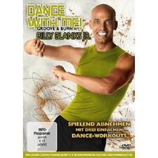 BILLY BLANKS JR. - DANCE WITH ME! GROOVE & BURN  DVD SPORT FITNESS NEU