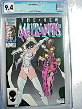 Marvel NEW MUTANTS #39 CGC 9.4 NM White Pages 1986