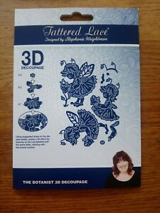 Tattered Lace Strawberry Stories - The Botanist - Fairy - Die Cutter Set