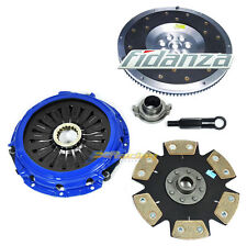 FX STAGE 4 CLUTCH KIT+FIDANZA ALUM FLYWHEEL MITSUBISHI LANCER EVOLUTION 7 8 9