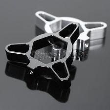2X19mm Alluminio  Precarico Forcella per Honda CBR 600RR 1000RR CB1000R Bu