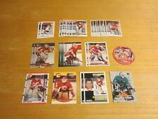 MIke Vernon Lot of 27 Trading Cards NHL Hockey Detroit Red Wings, Flames, Sharks