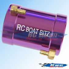RC Boat Traxxas Spartan/M41 36mm upgrade motor cooling jacket Purple