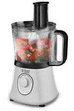 Russell Hobbs 19005 Aura Food Processor 750w 1.5l With 2 Speed and Pulse White