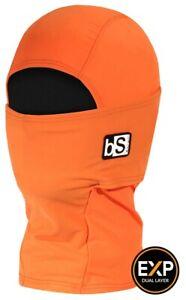 BlackStrap Kids Expedition Hood Balaclava Facemask Solid Bright Orange New