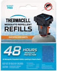 Thermacell Backpacker Mosquito Repellent Mat Only 48-Hour Refill12 Pcs Repellent