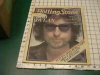 BOB DYLAN -- ROLLING STONE interview; jan 26th 1978 complete