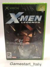 X-MEN LEGENDS - XBOX - VIDEOGIOCO NUOVO SIGILLATO - NEW SEALED PAL VERSION