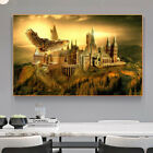 Abstract Harry's Hogwarts Owl School Canvas Painting Wall Art Posters And Prints