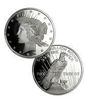 Peace Silver Dollar Design 1 Troy Ounce .999 Fine Silver Round SKU34187