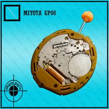 5 O'clock 3 hands 100 % new Miyota Japan quartz movement no Gp00 disk at