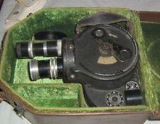Vintage 1940's  Bell & Howell Filmo 70 D Movie Camera,Lenses,Filters,Case,More+