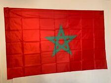Drapeau Maroc / Marocain / 145 cm X 90 cm / Livraison gratuite