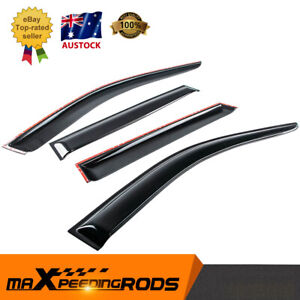 4x Weather Shield Weathershields Visors For Toyota Camry 06-12 Window Moulding