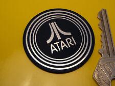ATARI Self Adhesive Console BADGE 50mm Logo Laptop Retro Gaming Desktop Game