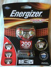 2 Packs Energizer Vision 100 lm HDA32E DEL Phare mains libres avec piles
