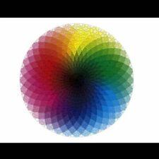 1000 Pcs The Rainbow Geometrical Puzzle Kids & Adult Jigsaw Colorful Round