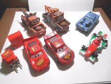 Lot of 8 Disney/Pixar CARS MOVIE Toy Vehicles Die Cast & Plastic