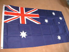 AUSTRALIAN FLAG 8'X5'  POLYESTER BRAND NEW POST FREE IN UK