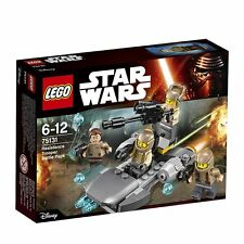Lego 75131 Star Wars Resistence Trooper Battle Pack 6-12 anni pronta consegna