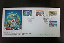 Malaysia 1987 Transportation and Communications Decade in Asia Pacific stamp FDC