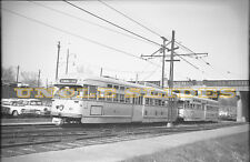 Original Medium Format Negative Shaker Heights Trolley Rapid Transit Cleveland
