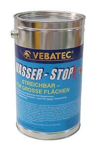 (24,41€/kg) Vebatec - Wasser-Stop streichbar 5 Kilogramm