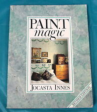 PAINT MAGIC BY JOCASTA INNES  FREE SHIPPING