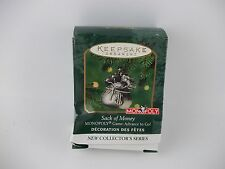 2000 MONOPOLY SACK OF MONEY Hallmark Keepsake Ornament, NEW IN BOX