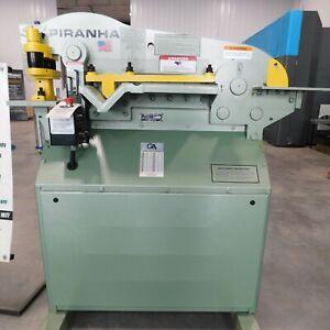 #10400: NEW Piranha P50 Hydraulic Ironworker