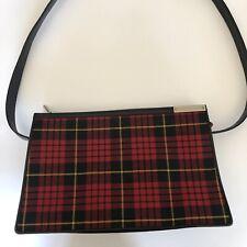 Rare Vtg Alexander McQueen Tartan 'Joan' Shoulder Bag AW1998
