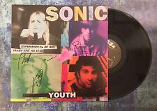 GFA Kim Gordon Thurston & Steve * SONIC YOUTH * Band Signed Record Album AD2 COA