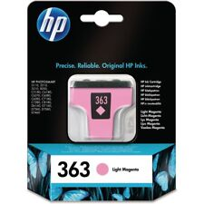 HP 363 LIGHT MAGENTA Photosmart 3110 3210 3310 8250 c5180 c8180 03/2018 OVP