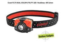 Coast FL75 DUAL COLOR UTILITY LED  Headlamp- 405 lumen
