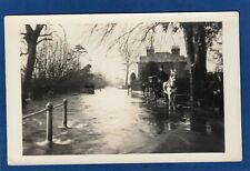More details for salisbury floods flooding unidentified road rp pc unused  1915  x108