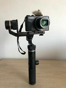 Feiyutech G6 Plus 3 Axis Stabilized Handheld Gimbal Camera In Case